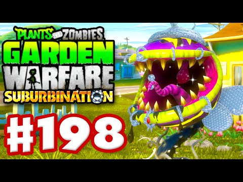 Plants vs. Zombies: Garden Warfare Gameplay Walkthrough Part 198 Chomper Bling