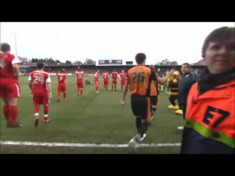 Aired on 11/12/2010, the Football league Show visits Barnet Football Club and looks at the The Hive training centre. interviews with Paul Fairclough, Tony Kleanthous, Mark Stimson and Izale Mcleod.