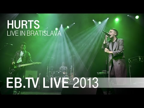 Hurts live in Bratislava (2013)