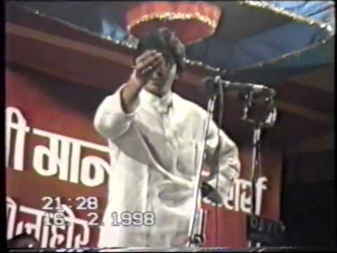 Very Rare video of Mr Raj Thackeray (February 16, 1998)