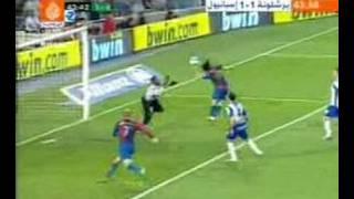 Messi Hand of God Goal vs Espanyol 09/06/2007