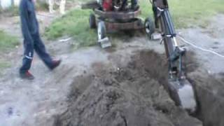 Dany Homemade Excavator New camera video
