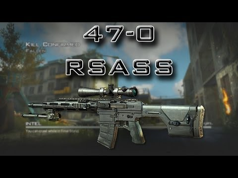 Modern Warfare 3 - Flawless 47-0 - RSASS Silenced (MW3 Sniper tips)