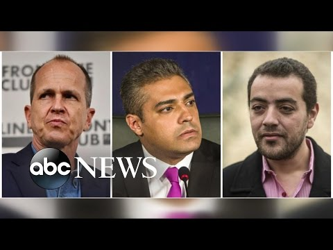Al-Jazeera Reporters Get 3 Years in Prison for 'Spreading False News' in Egypt