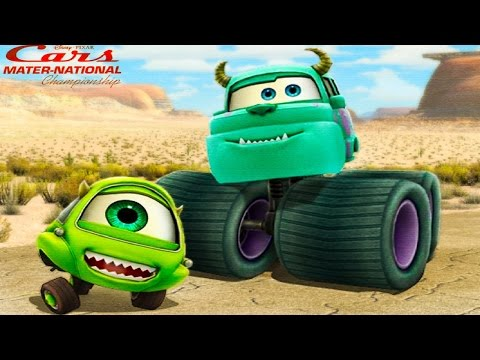 Мультики про Машинки. МОНСТР ТРАК Салли против Молнии МАКВИН и Мэтра. Monster Trucks. #Мультик игра