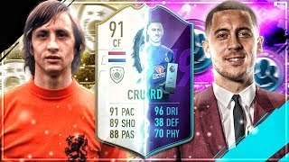 FIFA 19 CRUYFF vs POTM HAZARD Squad Builder Battle 🔥😱