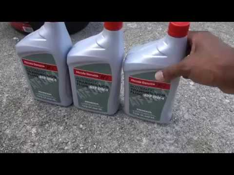 How to Change Automatic Transmission Fluid (1998 to 2002) Accord