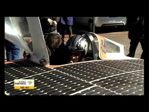 UKZN unveiled solar car for Aussie race