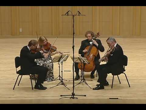The American String Quartet - Ravel String Quartet in F Major - 2nd Mvmt, Assez vif