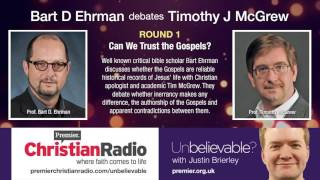 Video: Can We Trust the Gospels? - Bart Ehrman vs Tim McGrew 1/2