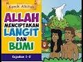 TUHAN MENCIPTAKAN LANGIT DAN BUMI - komik Alkitab anak sekolah minggu gereja Tuhan Yesus