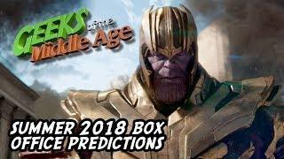 Summer 2018 Movies Box Office Predictions