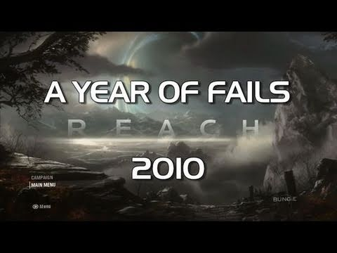 Halo: Reach - Fails of the Year 2010 (Funny Halo Screw-Ups and Bloopers)