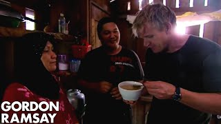 Gordon Ramsay Harvests Bird's Nests From A Cave | Gordon's Great Escape