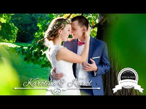 Karolina & Karol - Teledysk ślubny - Sala Havanna Strzebiń, Dj Marek Hus - Www.art-foto-video.pl