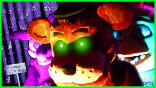 FNAF In REAL LIFE! - FNAF FRIGHT DOME EXCLUSIVE WALK-THROUGH & INTERVIEW! - Five Nights at Freddy's