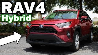 The BEST Hybrid SUV? 2019 Toyota RAV4 XLE Hybrid Review