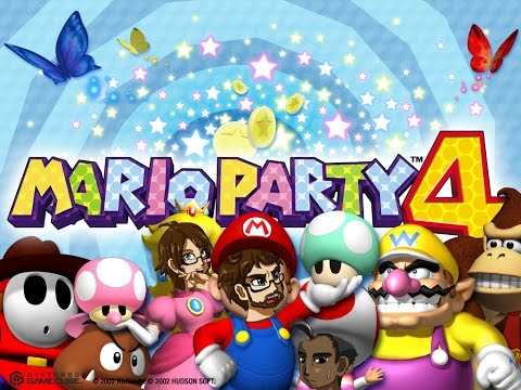 St. Patrick's Day Special- Mario Party 4 [Drunken Shenanigans]
