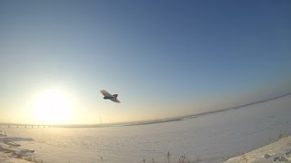 Winter Weasel RC Slope Soaring (Russia)