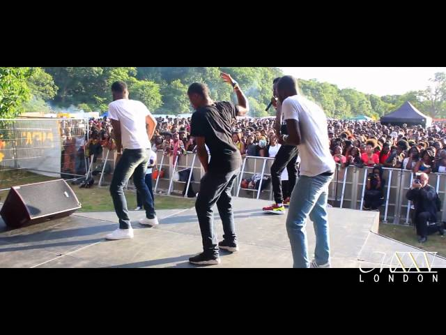 Mista Silva at Ghana Party in the Park 2014