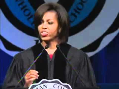 First Lady Michelle Obama Commencement Speech at Spelman College May 2011