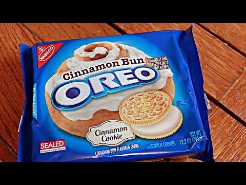 Cinnamon Bun Oreo Cookie Review [145]