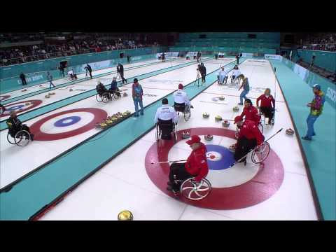 USA v Norway | Wheelchair curling | Sochi 2014 Paralympic Winter Games