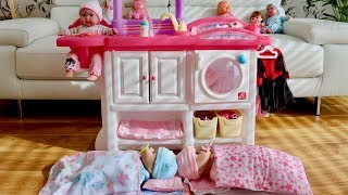 Baby Dolls Love & Care Deluxe Nursery Center Set up & Play! Baby Born Baby Annabell & Nursery Rhymes