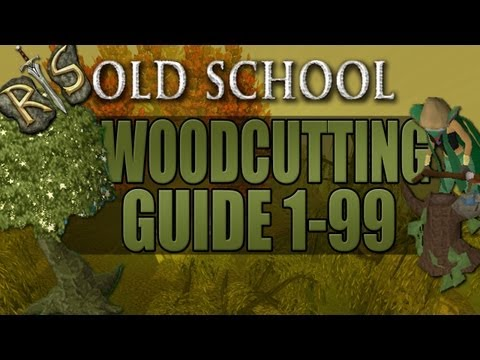 RuneScape 2007 Woodcutting Guide - Kickstart!