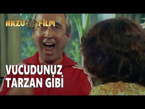 Eski Filmler - Hababam Sınıfı Dokuz Doğuruyor - Vucudunuz Tarzan Gibi Güçlü