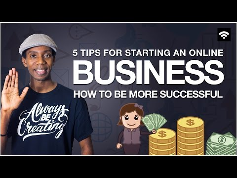 5 Tips for Starting an Online Business | Advice for For Business Productivity