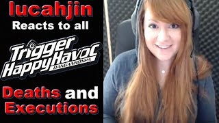 lucahjin Reacts to all Danganronpa: Trigger Happy Havoc Deaths and Executions!