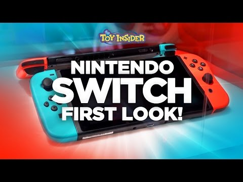 Nintendo Switch First Look - Interview with Ninetndo's David Young about New Joy-Cons & Features