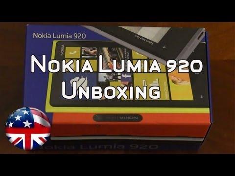 Nokia Lumia 920 Unboxing. Comparison & Walk Through