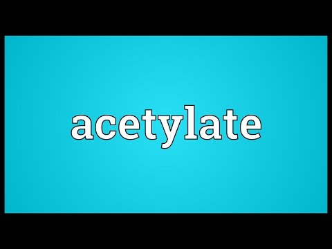 Header of acetylate