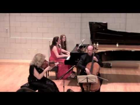 Summit Music Festival Mendelssohn Trio in D minor  Andante con moto tranquillo