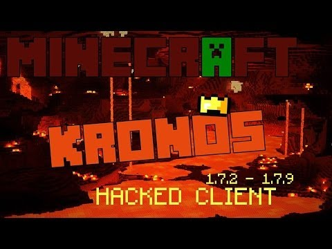 Minecraft 1.7.2 - 1.7.10 : Hacked Client - KRONOS ! - The PVP master ! [HD]