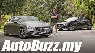 Mercedes-Benz A200 1.3L Progressive Line Review - AutoBuzz.my