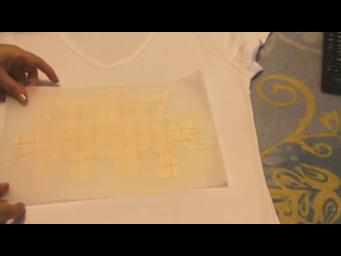 Tutorial: Estampar un diseño en una camiseta, con papel transfer. DIY