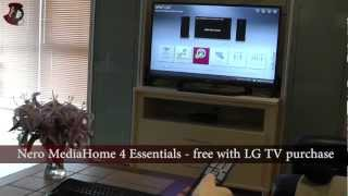 LG 42LM640S 3D LED Television Menus & 3D Part 2