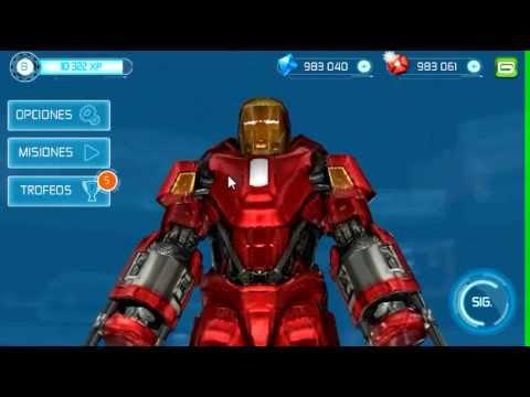 IRON MAN 3 juego oficial todas las armaduras