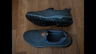 Men leisure sneakers. Anti-slip hiking shoes (Gray EU 45) 4k