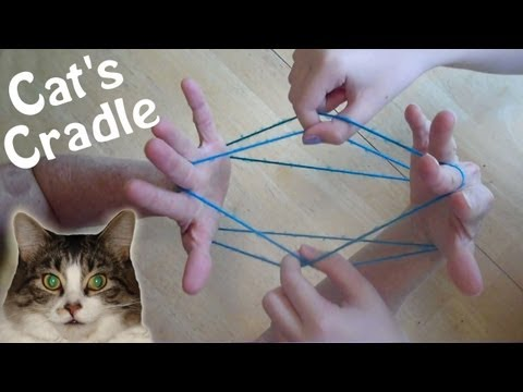 How to do Cats Cradle EASY! Step by step, with string