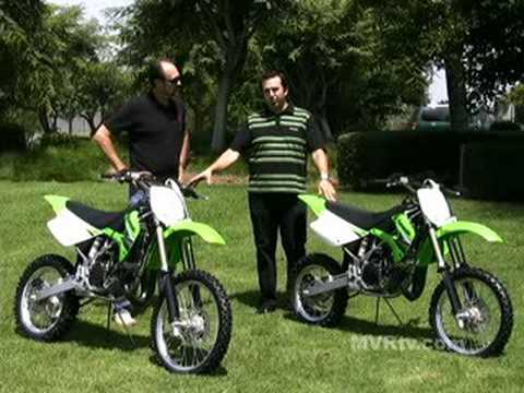 Quick Look - 2009 Kawasaki KX100 and KX85