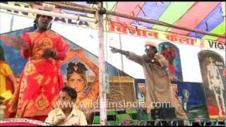 Dancer in Sonepur Mela