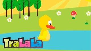 O ratusca sta pe lac cu versuri TraLaLa