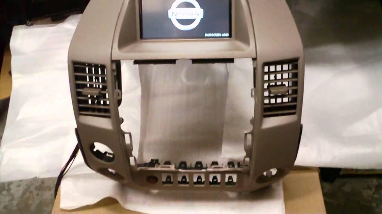 Nissan Titan Gps Nav Navi Navigation 04 12 Mp4 Youtube
