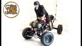 RC 1/6 QUAD HOMEMADE - Full build & ride
