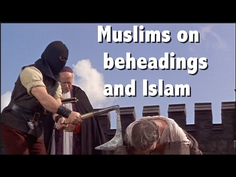 Muslims On Beheading And The Mercy And Love Of Islam -thedeenshow video
