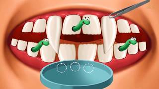 Baby Monster Care Fun - Play Teeth Brush Makeup & Style Fun baby kids Games